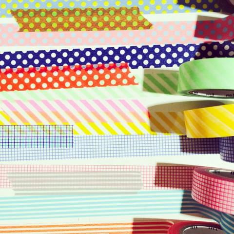 マスキングテープは500種以上!