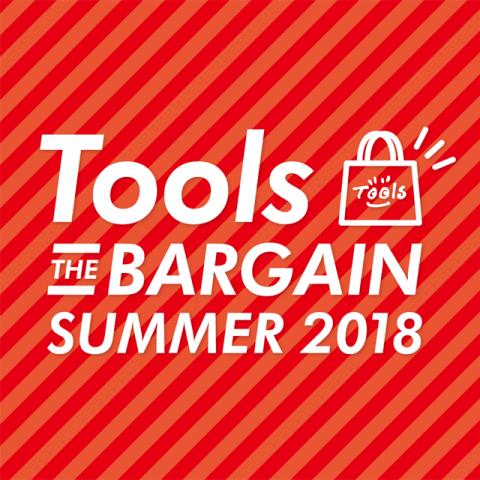 『Tools THE BARGAIN』開催!!